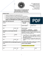 Missouri 1033 Application