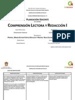 Planeación Semestral Com Lec y Red i Ago-2014