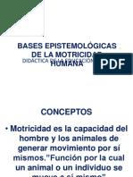 b. Bases Epistemológicas de La Motricidad Humana