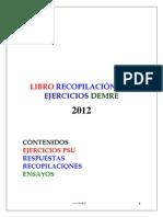 Libro PSU ( Recopilación Demre)