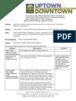 DISI Meeting November 21, 2013 Minutes