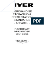 Merchandise Packaging & Presentation Standards for Stores