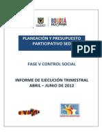 Informe Control Social II Trimestre