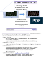 Extending LabVIEW to the Web Using the LabSocket System (Bay Area LV UGM Nov 19 2013)