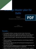 Drainage master plan fordelhi