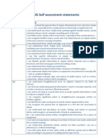 Dialang Self Assessment Statements Fv