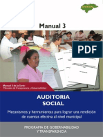 Manual 3 Auditoria Social