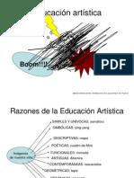 Razones de La Educacin Artstica