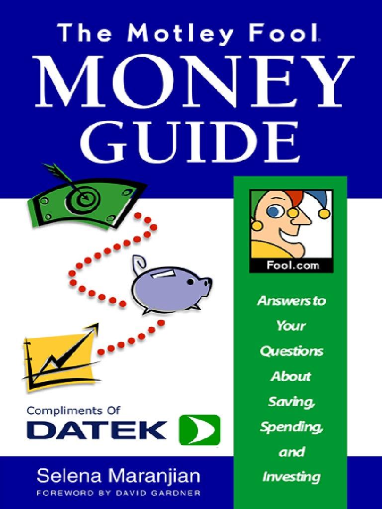 4461d52eb4e5 The Motley Fool Money Guide