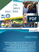 PRESENTACION Proyecto Esmeraldas II Diciembre 2013