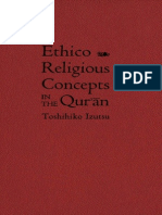 Toshihiko Izutsu Ethico-Religious Consept Quran