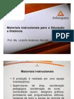 Materiais Instrucionais Para a Educação a Distância