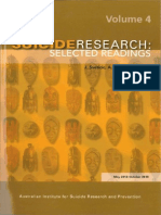 Suicide Research Text Vol4