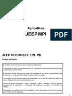 Jeep MPI Codigos de Erro 5p2