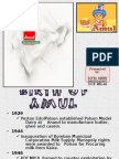 Amul- The taste of India