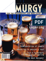 Zymurgy - Lagers and Lagering (Vol. 22, No. 5, 1999)