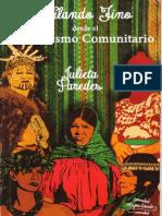 Hilando Fino Desde El Feminismo Comunitario