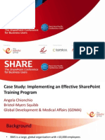 Implementing an Effective SharePoint Training Program