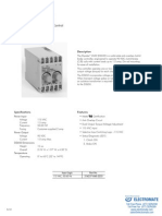 InertiaDynamics Controls D2650 Specsheet
