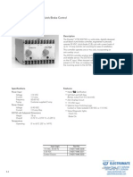 InertiaDynamics Controls D2750 Specsheet