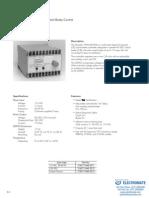 InertiaDynamics Controls D2950 Specsheet