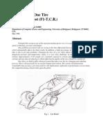 F1 Change Tire Robotic