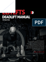 Elitefts Deadlift Manual