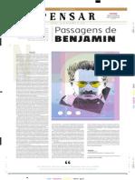 Passagens de Benjamin - Resenha Estado de Minas - Caderno Pensar