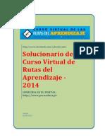 Solucionario de Rutas de Aprendizaje 2014