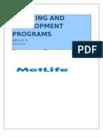 Training and 09 Development Programs