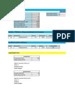 Tabela projeto hidrossanitaro