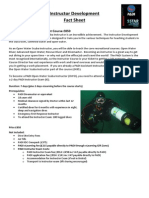 Instructor Development Factsheet