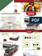 COZIL Catalogo Buffet Line 2011