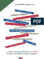 Qué Es El Diccionario Panhispánico de Dudas - JPR504