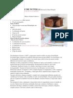Cheesecake de Nutella Receta de Alma Obregón