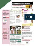 Senior Talk Newsletter August 13 2014