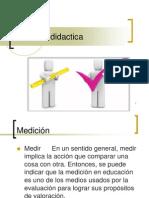 medicion didactica