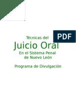 Juicio Oral, Técnicas Del, Nuevo Leon