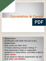 correlation  cause