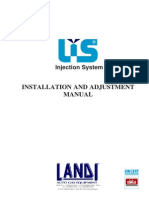 Manual for mounting LIS (IGS)  injection system