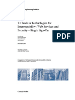 T-Check in Technologies for Interoperability