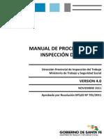 Manual de Procedimientos de Inspección Del Trabajo