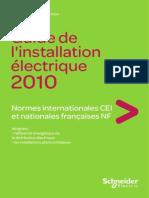89664313 SCHNEIDER Guide Installation Electrique 2010