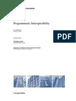 Programmatic Interoperability
