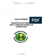 Guia Tramites Requisitos DGC