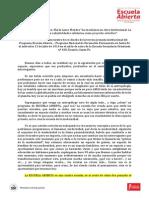 Desgrabación Conferencia Dra. María Laura Mendez