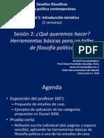 EG-0125 Desafíos Filosóficos de La Política Contemporánea - Sesión 2