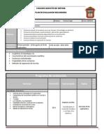 Plan de Evaluacion Quimica b1 14-15