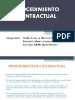 Procedimiento Contractual