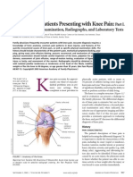 Evaluation of Patients Presenting With Knee Pain - Part I